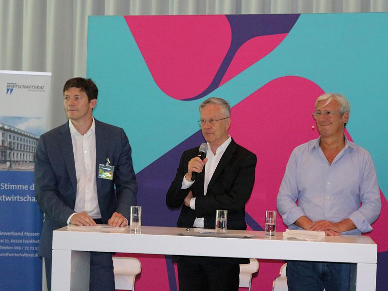 Vortrag Prof. Dr. Markus Mau auf der Regionalkonferenz Südhessen zum Thema: Mobilitätskonzepte der Zukunft. 26. Juni 2019, Darmstadt